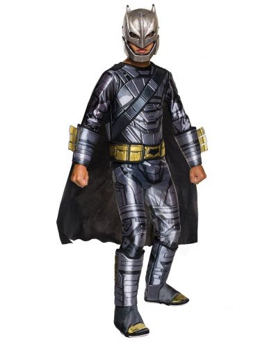 Disfraz de Batman armadura deluxe Batman vs Superman para niño
