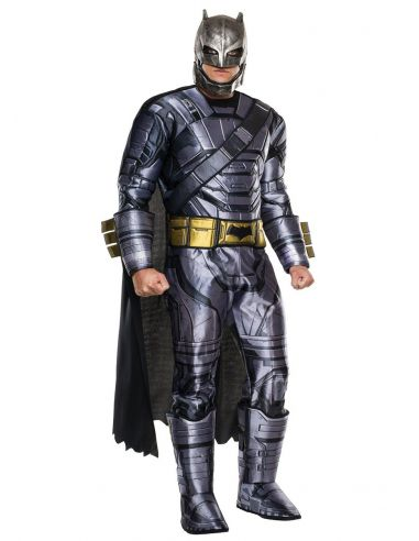 Disfraz de Batman armadura deluxe Batman vs Superman para adulto