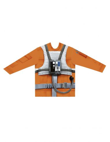 Camiseta hiperrealista de Luke Skywalker para adulto