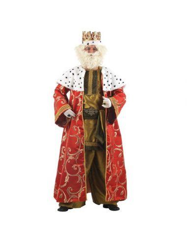 Disfraz Rey Mago Melchor Lujo