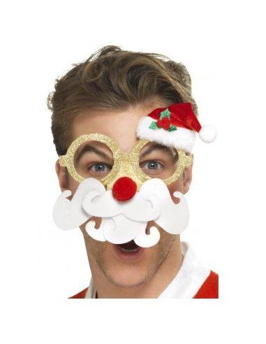 Gafas divertidas de Papa Noel