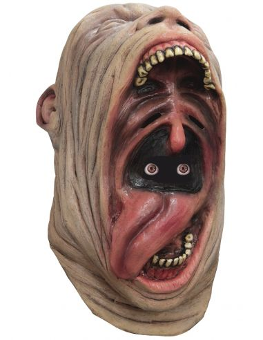 Máscara digital Crazy Gaping Mouth para adulto