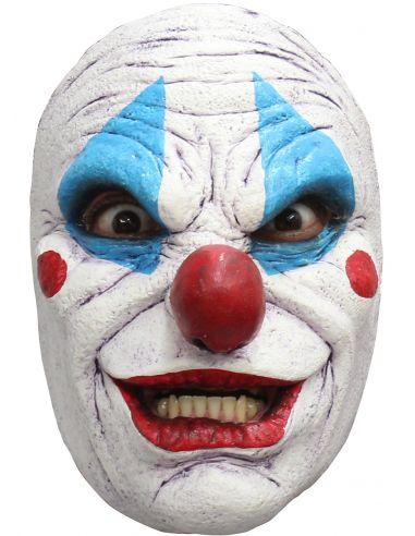 Máscara de payaso loco para adulto