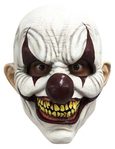 Máscara de payaso repugnante para adulto