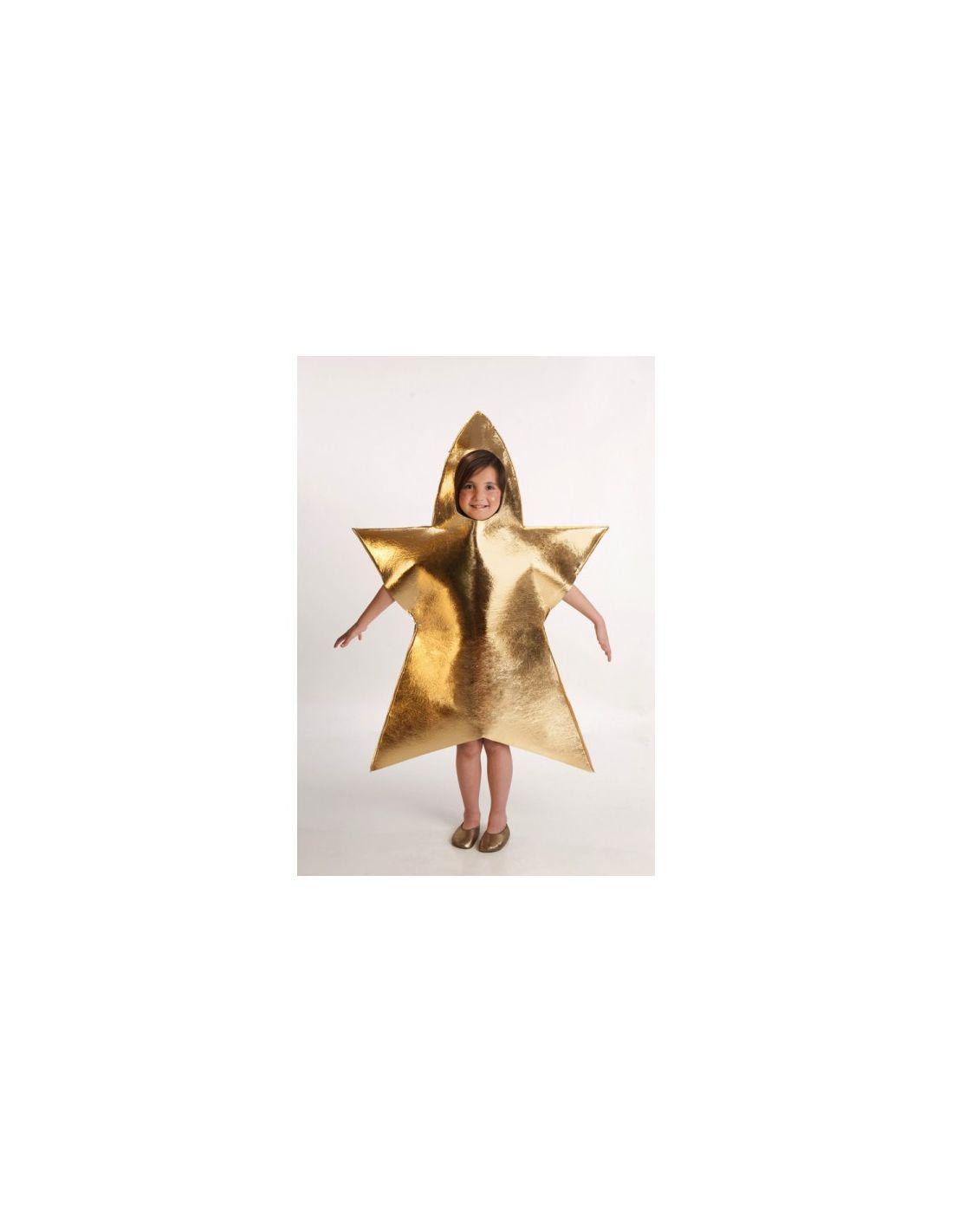 Disfraz de estrella de la navidad - Disfraces infantiles navidad ...