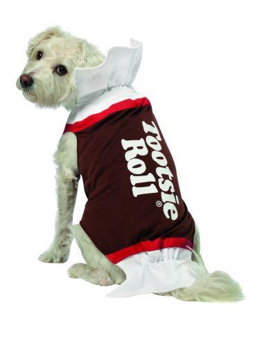 Disfraz de dulce de chocolate para perro