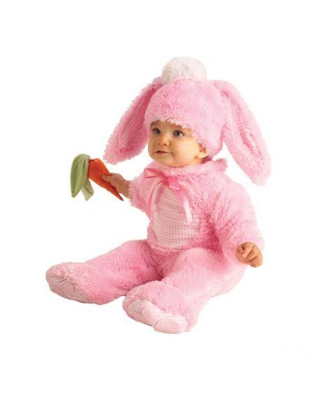 Disfraz de Conejita rosa bebé