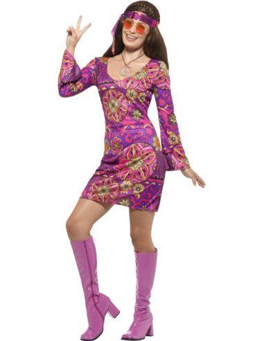 Disfraz Chica Woodstock