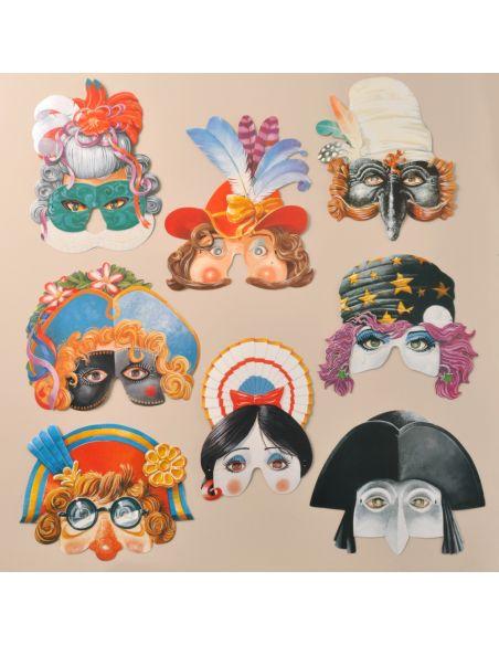 Máscaras Vintage Venecianas