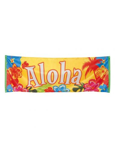 Pancarta Aloha Hawaiana