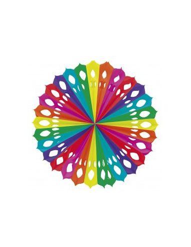 Abanico multicolor
