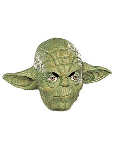 Máscara de Yoda ¾ vinilo