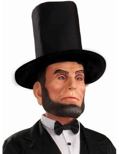 Máscara de Abraham Lincoln de látex