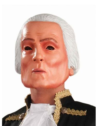 Máscara de George Washington de látex
