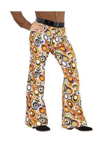 Pantalón retro burbujas de los años 70 para hombre