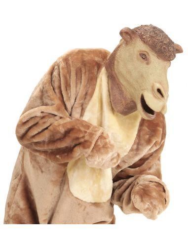 Máscara de camello del desierto para adulto
