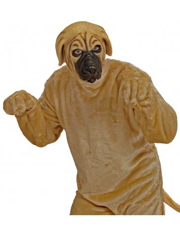 Máscara de perro mastín inglés para adulto