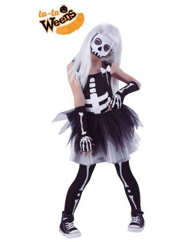 Disfraz de Esqueletita infantil
