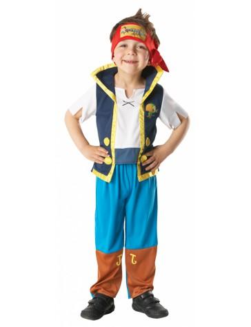 Disfraz Jake pirata infantil