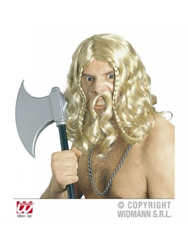 Peluca de Vikingo