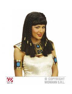 Peluca de Cleopatra egipcia