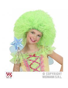 Peluca duende verde infantil
