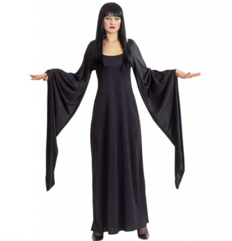 disfraces de halloween morticia