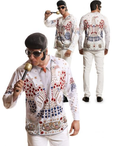 Camiseta del Rey Elvis adulto