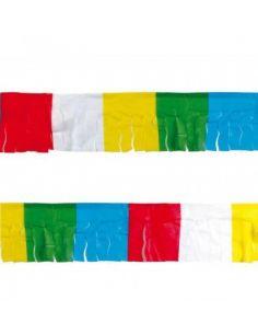 Banderines de plástico multicolor