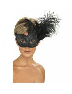 Máscara negra veneciana