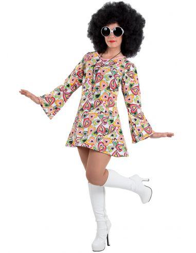 Disfraz de Años 70 para mujer