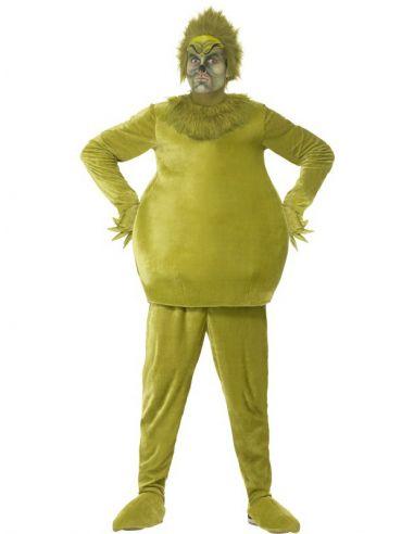 Disfraz de Grinch adulto