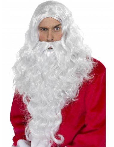Peluca y Barba Papa Noel