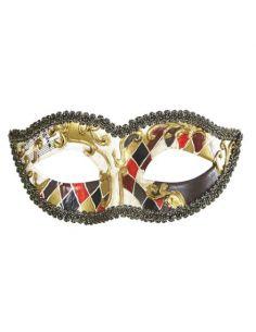 Máscara arlequín veneciano