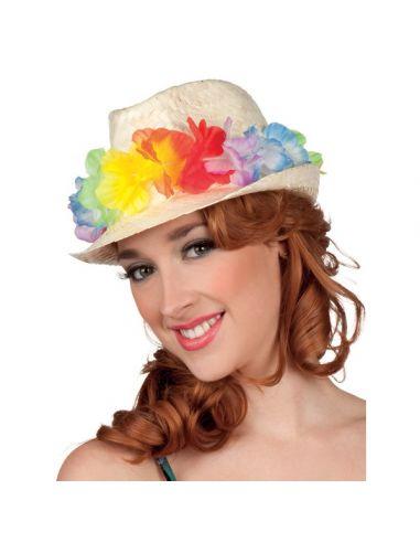 Sombrero de paja hawaiano