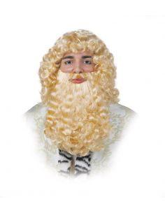 peluca de rey mago para hombre