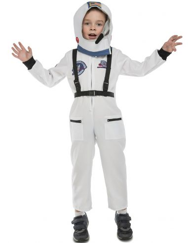 disfraz de astronauta en rbita infantil