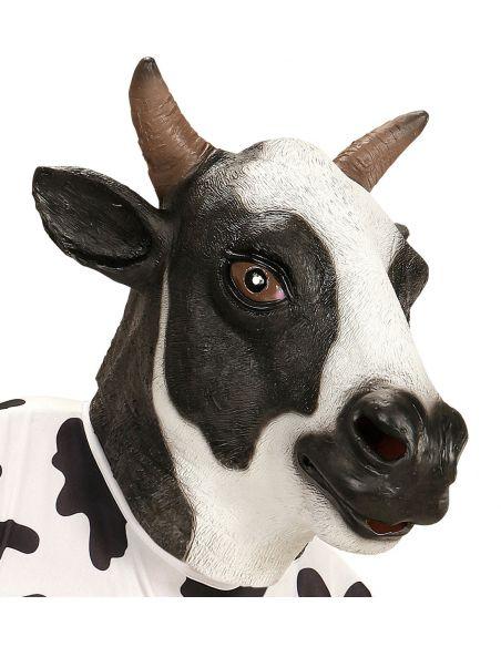 mscara de vaca lechera adorable para adulto