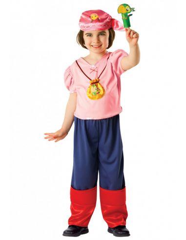 Disfraz pirata Izzy infantil
