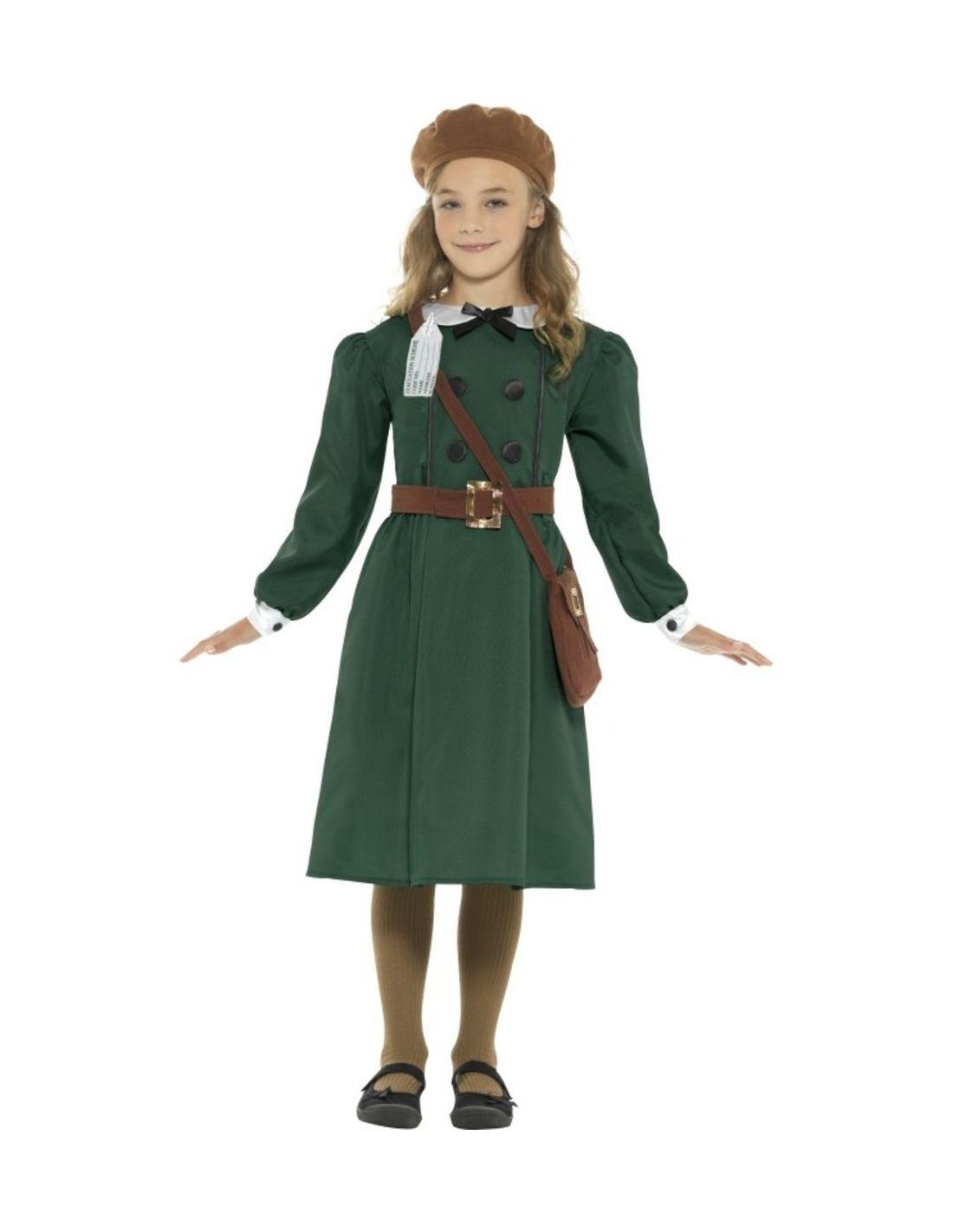 4330c5051 Disfraz Años 40 para niña - Disfraces infantiles años 40
