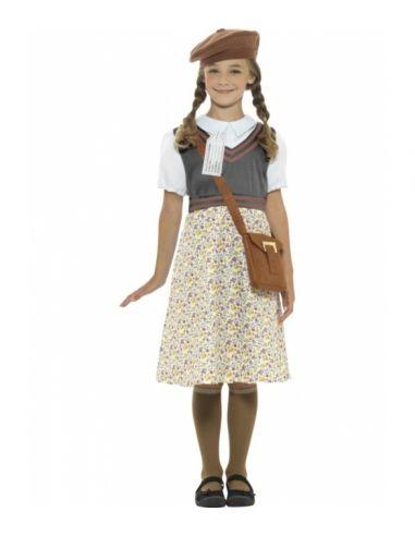 fbbacfcb4 Disfraz de colegiala años 40 para niña