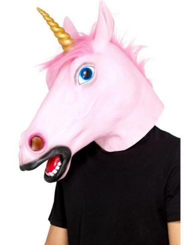 Máscara Unicornio rosa