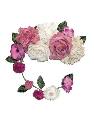 Ramo flor flamenca con tira