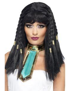 Peluca de Egipcia para mujer