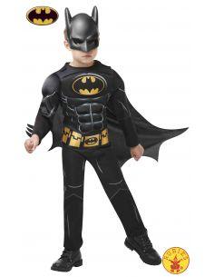Disfraz de Batman Black Core Deluxe infantil