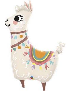 Globo Llama adorable Foil