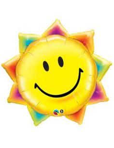 Globo Sol Sonriente Foil