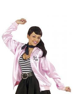 chaqueta de pink girls de los 50
