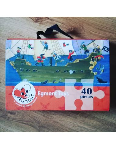 Puzzle Vintage Piratas