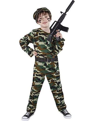 Disfraz de Militar infantil